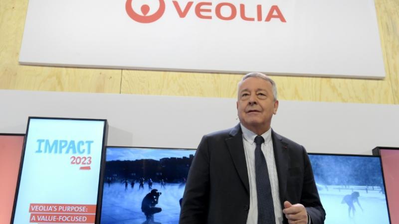 Antoine Frérot, le PDG de Veolia le 28 février 2020 à Aubervilliers