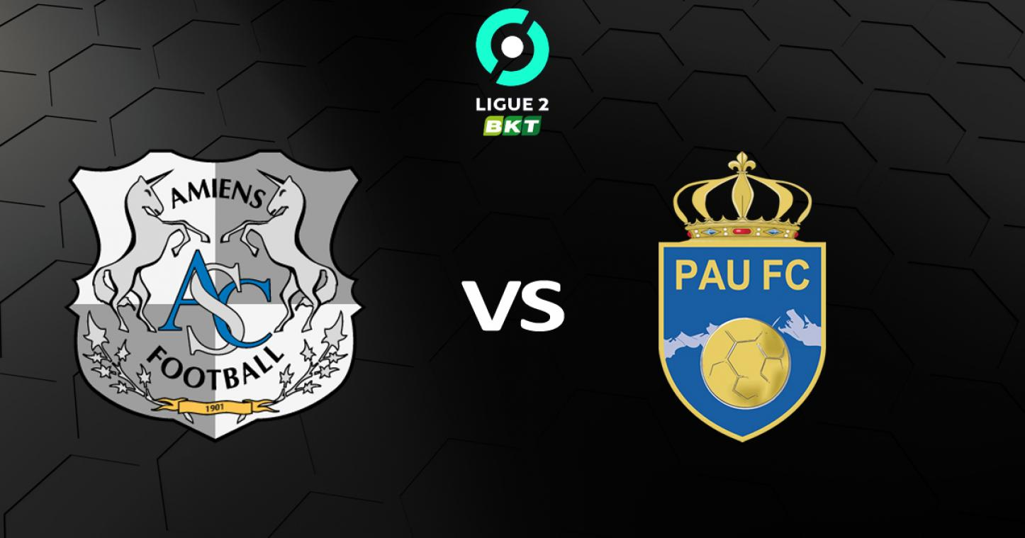 Jeu Amiens SC - Pau FC