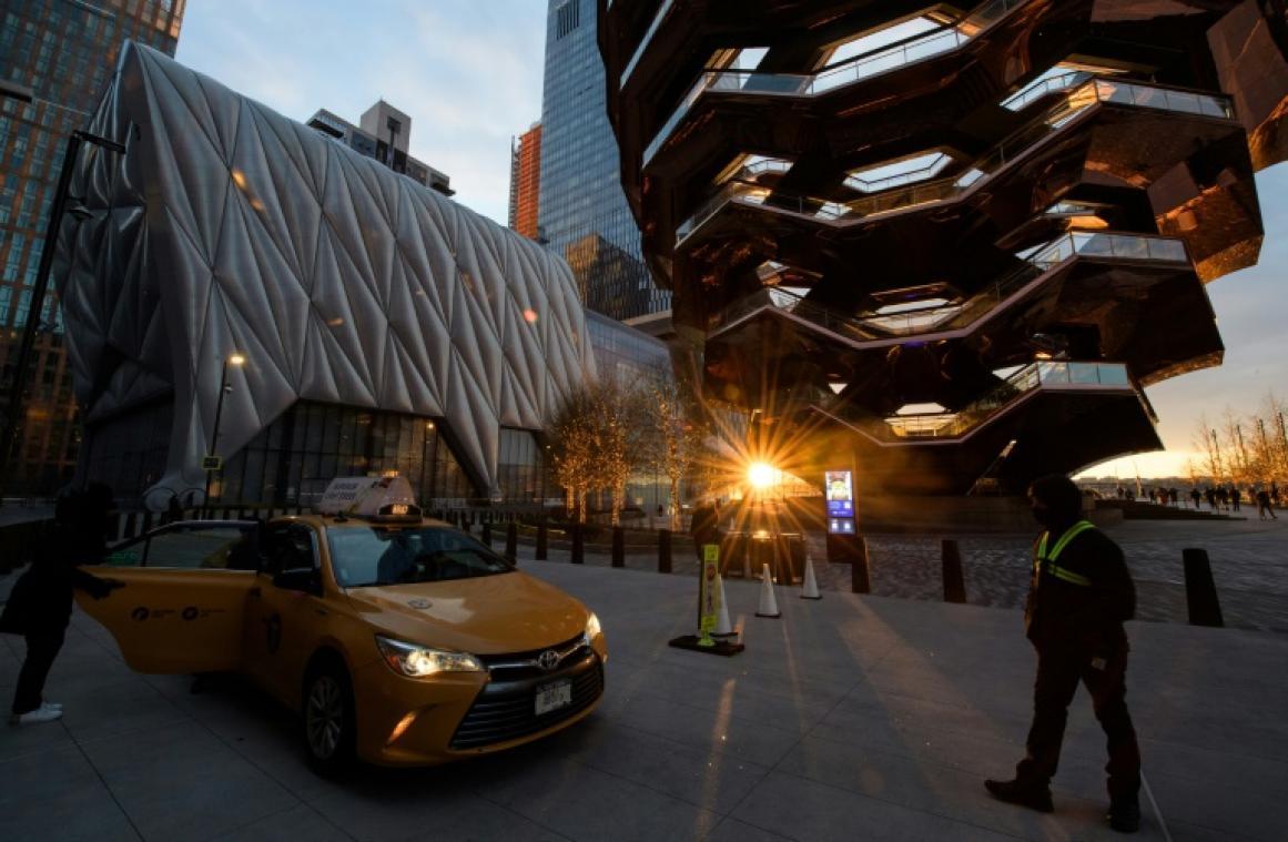 A New York, quelques heureux élus savourent leur premier spectacle depuis un an