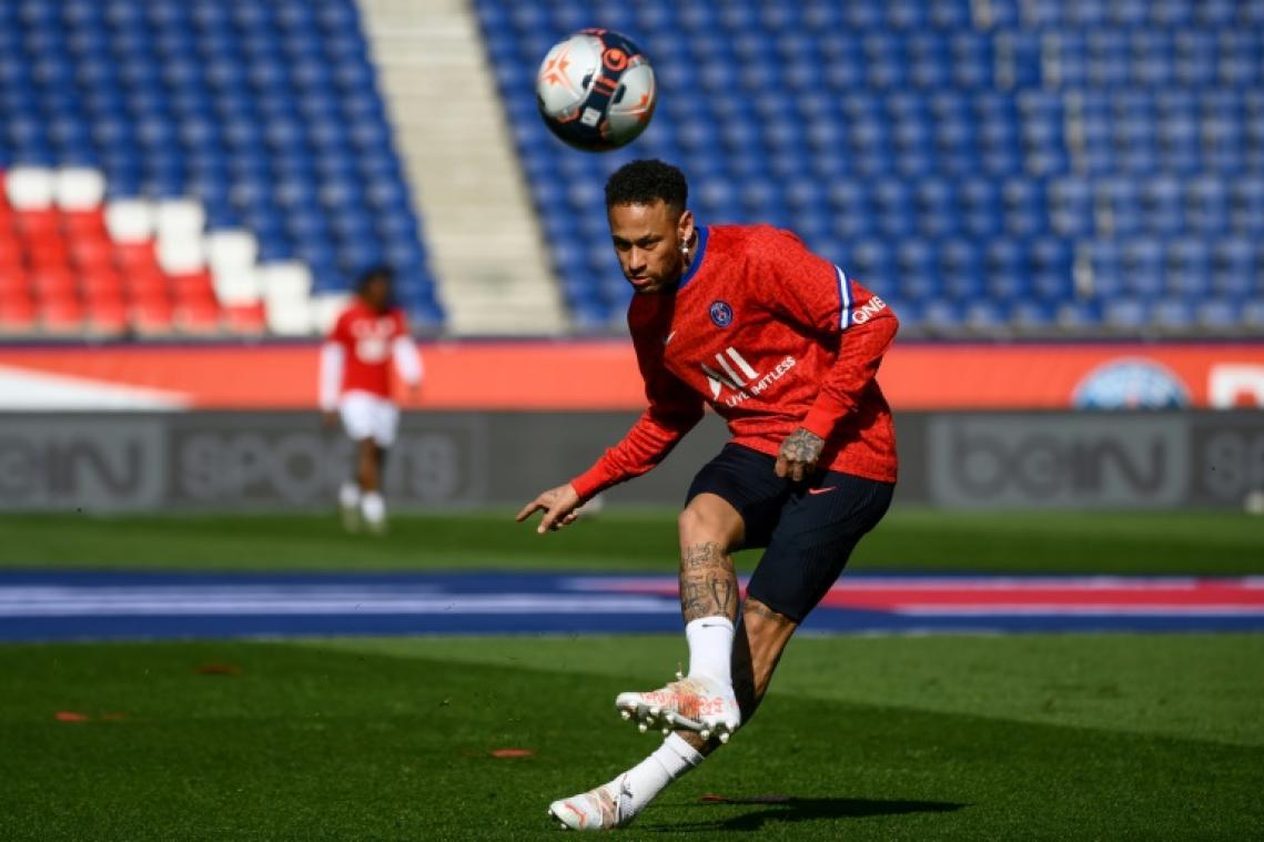 L1: Neymar de retour comme titulaire avec le PSG, contre Lille