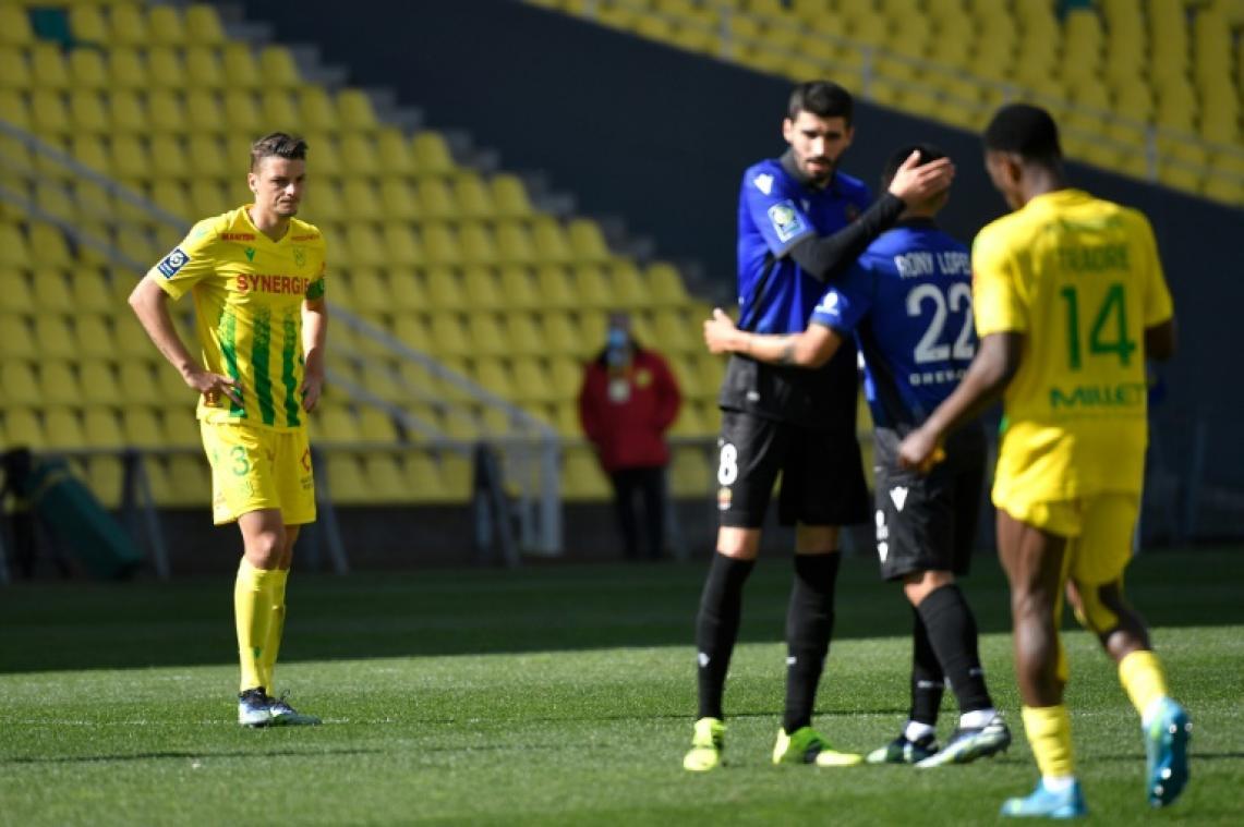 Ligue 1: Nantes et Bordeaux s'enfoncent