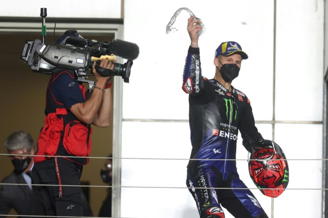 MotoGP: Quartararo devant Zarco offrent à la France un doublé historique