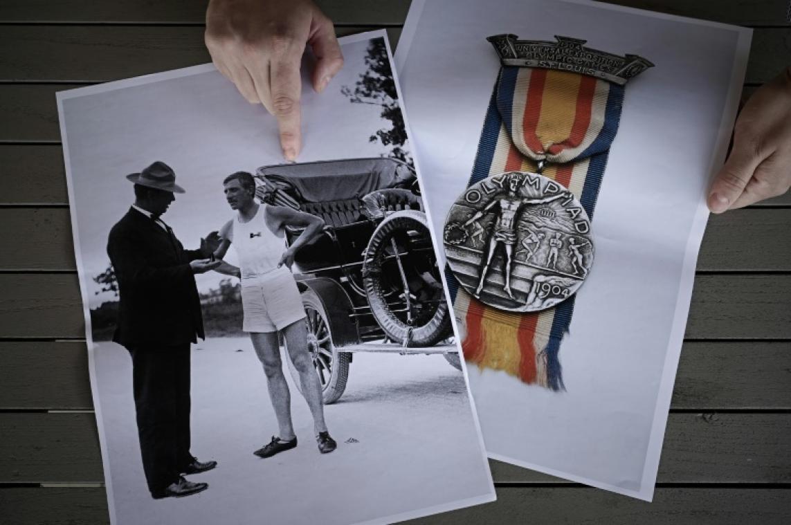 Albert Corey, l'athlète français aux médailles américaines