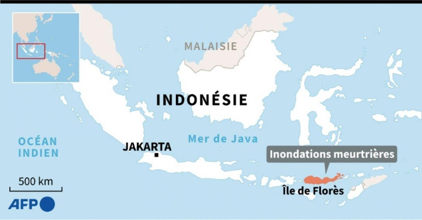 Inondations en Indonésie et au Timor oriental: près de 90 morts, des dizaines de disparus