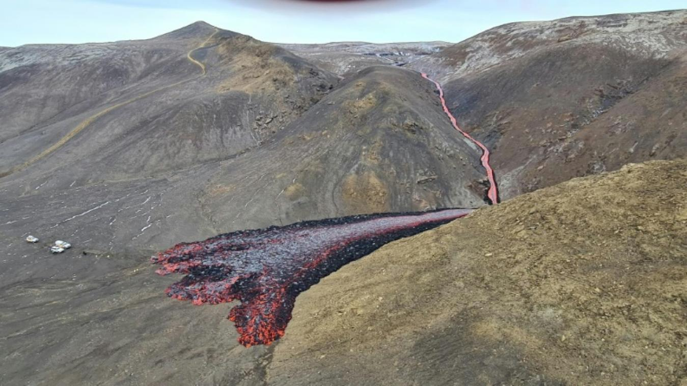 Islande: l'éruption volcanique s'étend avec une nouvelle source de lave