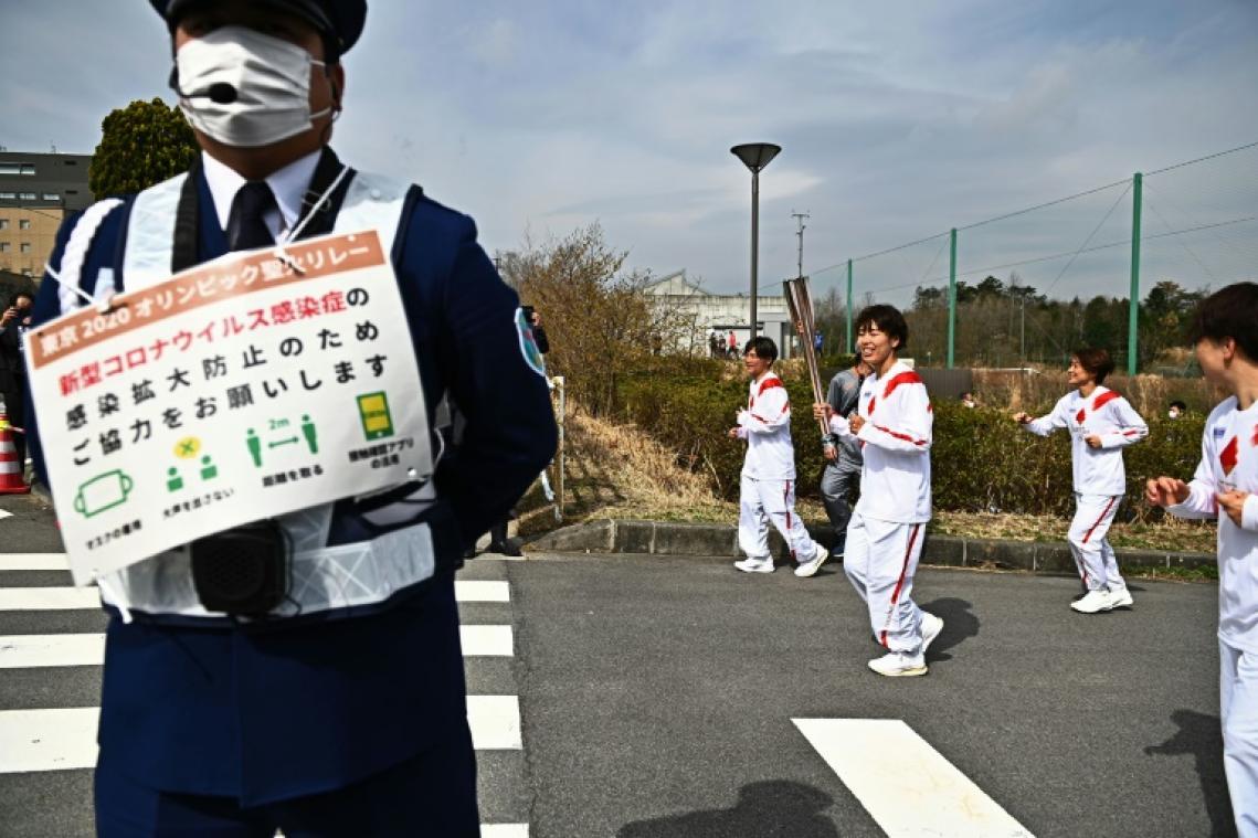 JO de Tokyo: le relais de la flamme interdit sur la voie publique dans tout le département d'Osaka