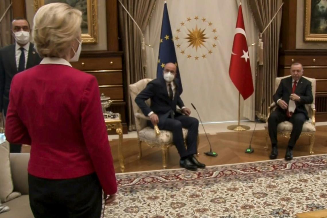Le #sofagate ou l'affront protocolaire vécu par Ursula von der Leyen à Ankara