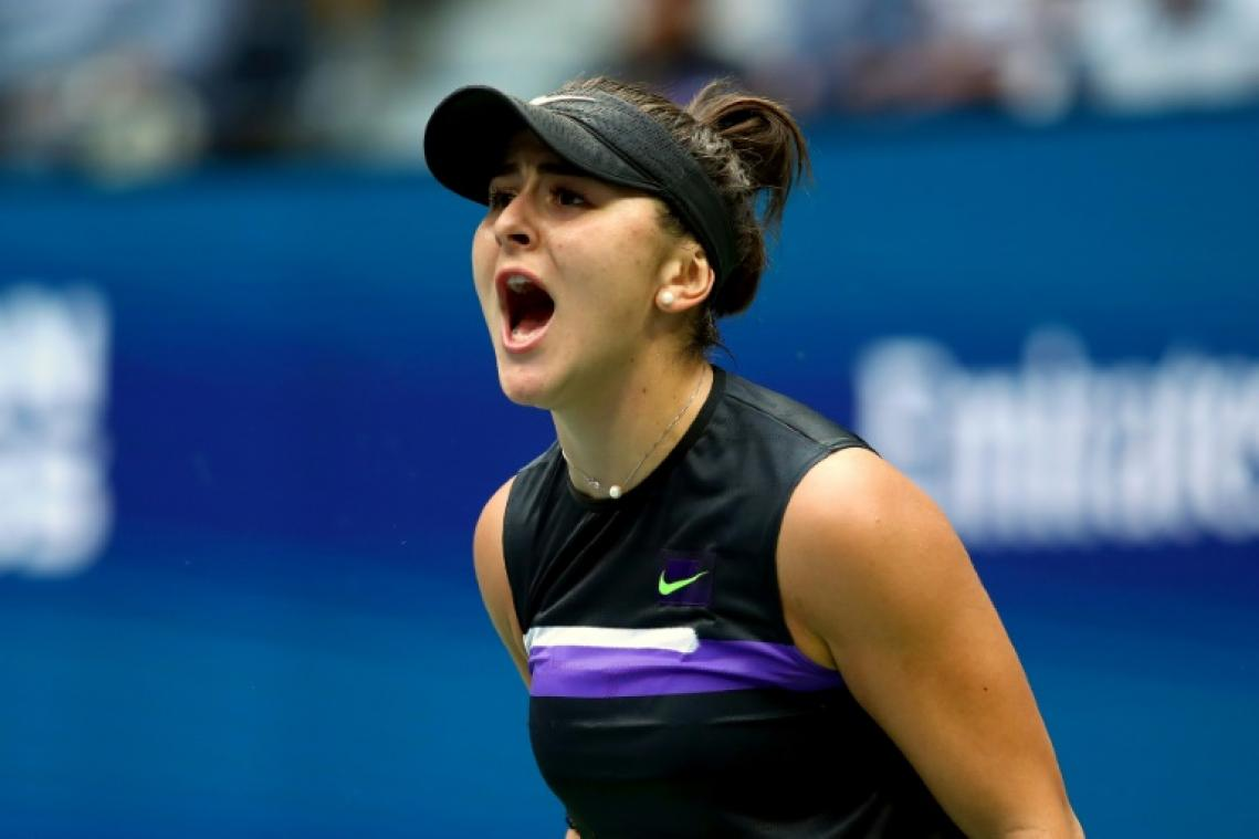 Bianca Andreescu domine Serena Williams — US Open