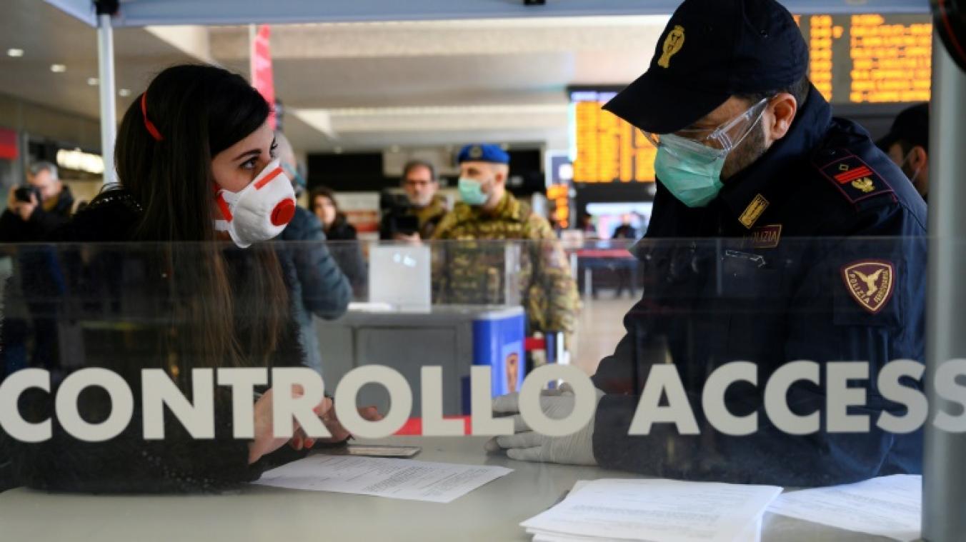 Toute l'Italie placée à l'isolement — Coronavirus