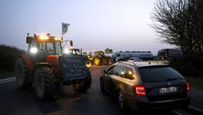 Contre la future PAC, des agriculteurs mobilisés dans la moitié nord de la France