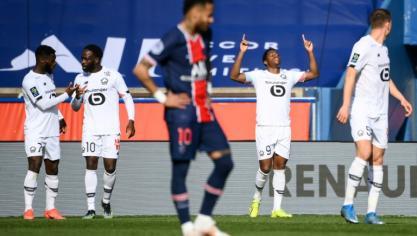 L1: Lille mate le Paris SG et reprend les commandes