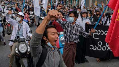 """Birmanie: des oeufs de Pâques contre la junte, le pape exprime """"sa proximité"""" avec la jeunesse"""