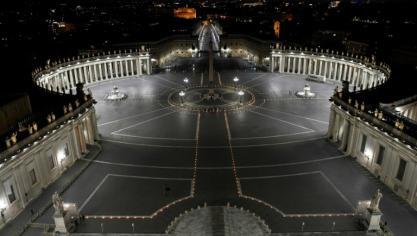 Pâques sous le signe de la pandémie, le pape appelle le monde à partager les vaccins