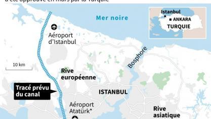 Turquie: Erdogan fulmine contre des amiraux retraités pour avoir critiqué un de ses projets