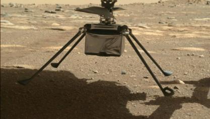 L'hélicoptère Ingenuity de la NASA survit à sa première nuit seul sur Mars