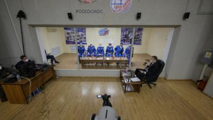 Un équipage part pour l'espace, 60 ans après Gagarine