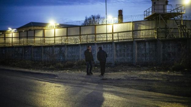 Vue du centre de détention à Vladimir le 19 avril 2021 où Alexeï  Navalny a été transferé