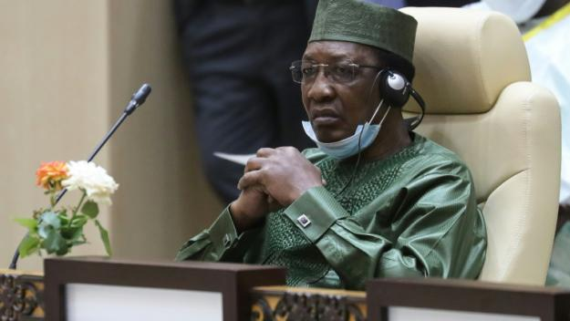 Le président du Tchad Idriss Deby Itno le 30 juin 2020 à Nouakchott