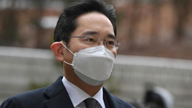 Lee Jae-yong, héritier et patron de facto de Samsung, le 18 janvier 2021 à Séoul, en Corée du Sud