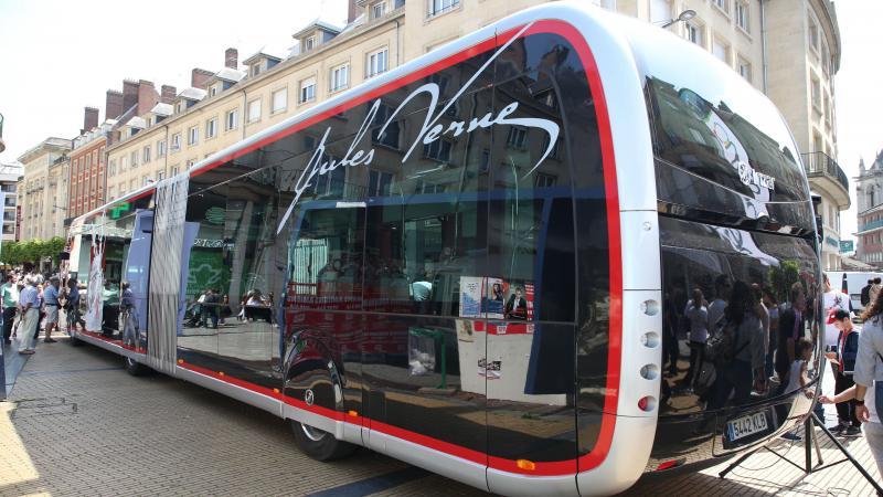 La présentation d'un bus Nemo inaugural est annoncée ce samedi 11 mai place René-Goblet à 15 h 30, après être parti de la place Alphonse-Fiquet à 15 h 15.