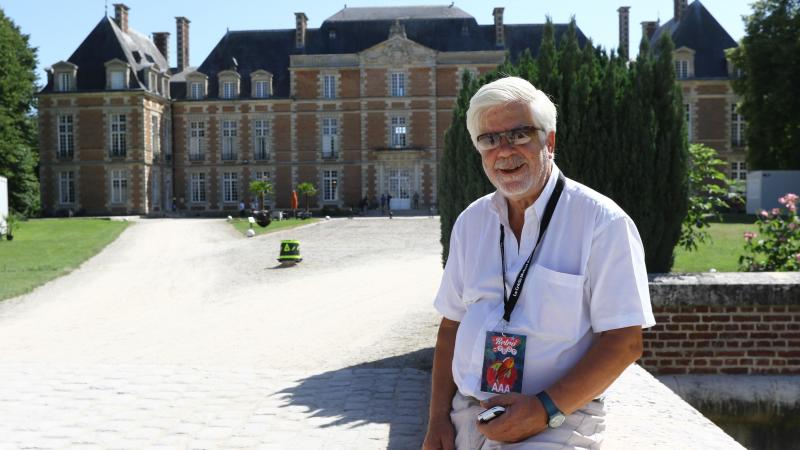 Yves Foucart gère le château le Tilloloy depuis 2001. Il vit cette année son dernier festival Rétri C Trop, avant son départ à la retraite. (Photo Fred Haslin)