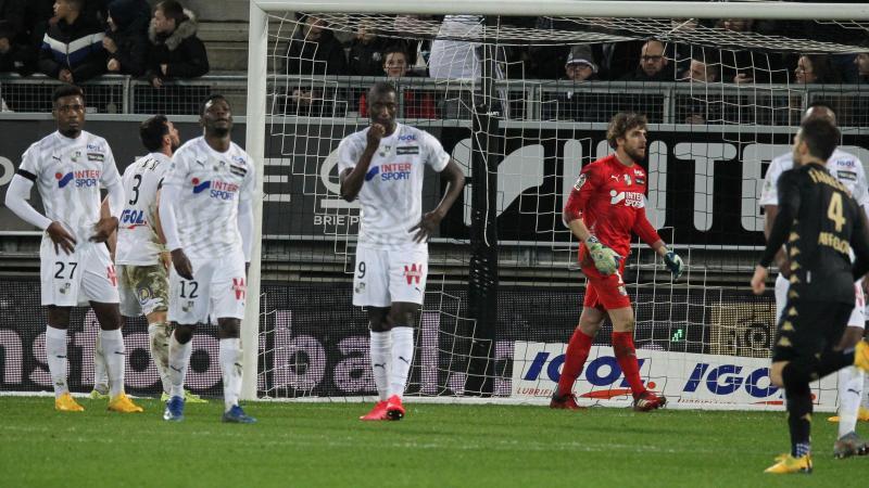 L'espoir de l'Amiens SC de conserver sa place en Ligue 1 s'amenuise.