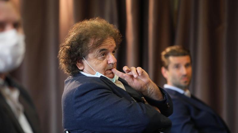 Luigi Mulazzi, le vice-président de l'Amiens SC, compte sur l'esprit de revanche qui doit animer l'équipe la saison prochaine pour retourner en Ligue 1. (Photo D.T.)