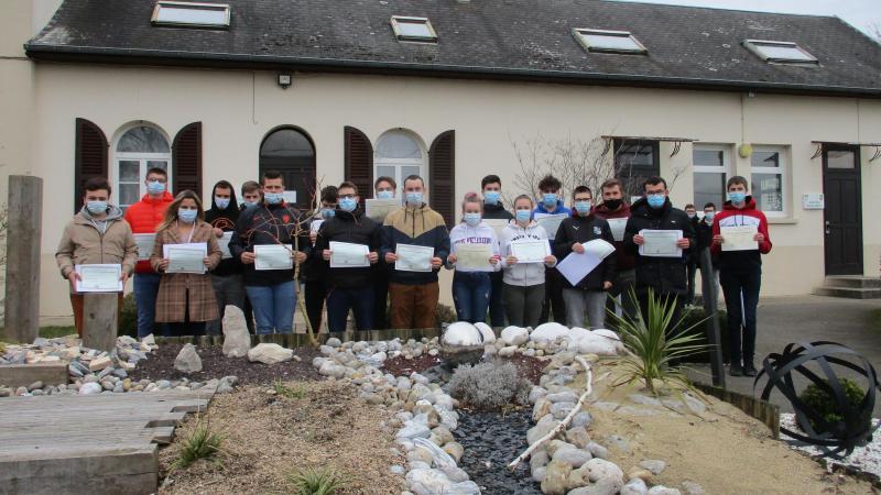Vingt-deux élèves ont reçu leur diplôme de CAP agricole, vendredi 19 février.