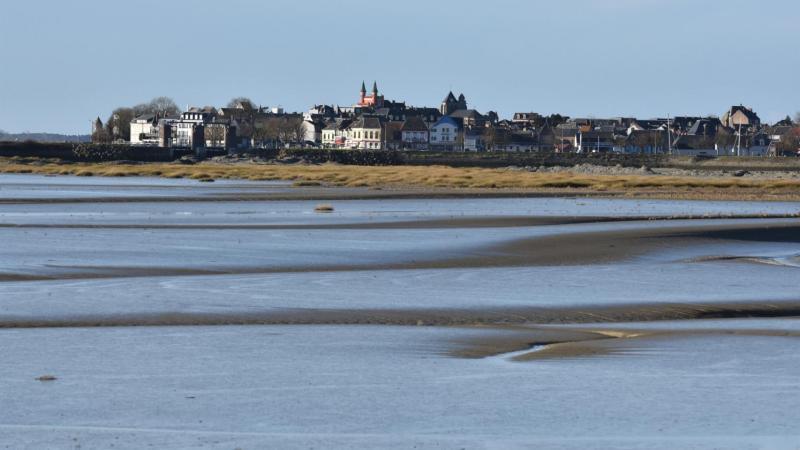 Le Crotoy, un jour de grande marée. (Photo d'archives)
