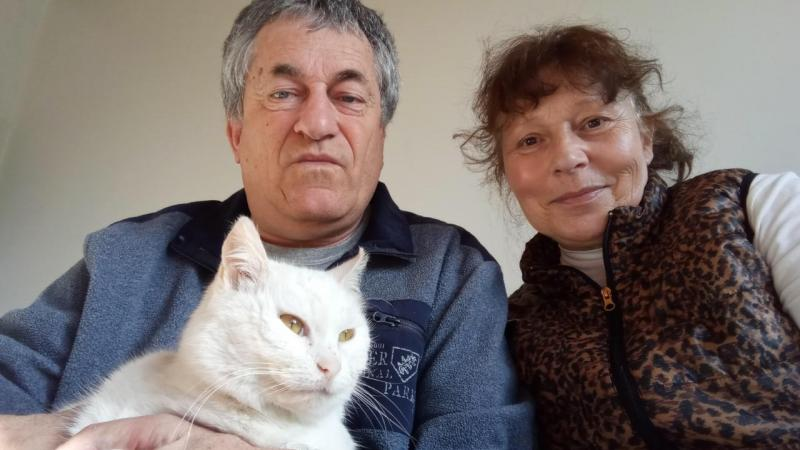 Didier Baverel et sa compagne sont heureux d'avoir retrouvé Blanche.