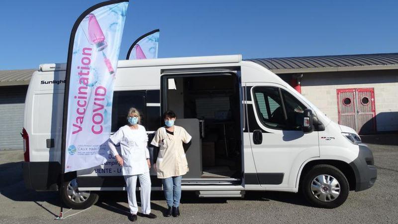 Le planning de la vaccimobile pour le mois de mars est déjà complet.