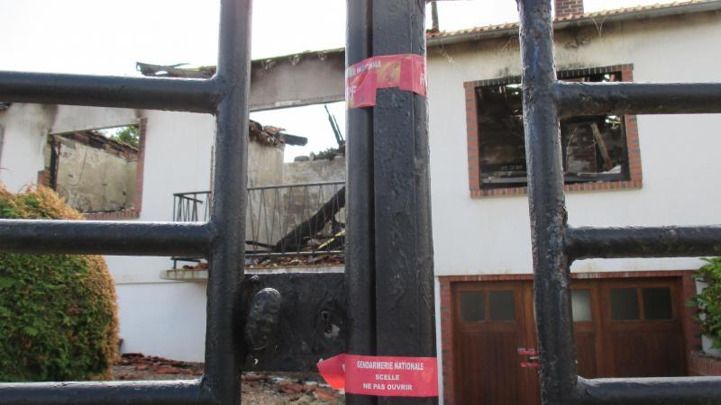 Le drame a eu lieu au 918 de la route de Chauny.