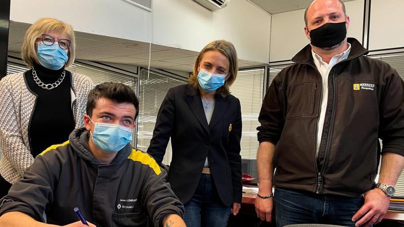 Boris Pimont rejoint les équipes du garage Renault de Feuquières-en-Vimeu en CDI.
