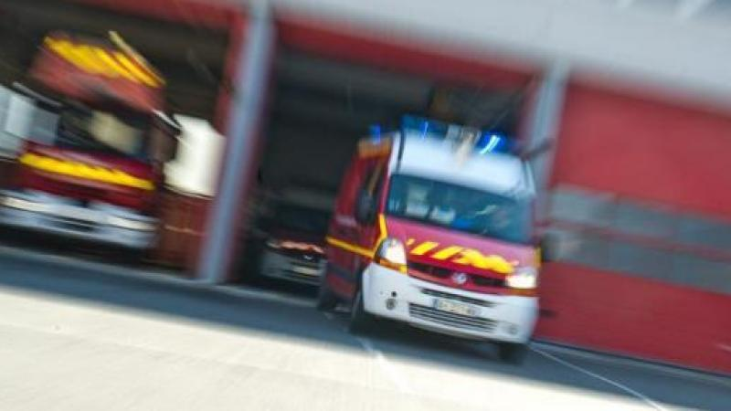 Les pompiers ont été appelés peu après 15 heures lundi 15 mars.
