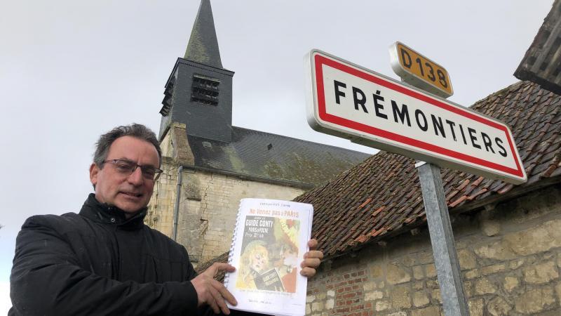 Alain Domart, le maire, s'enthousiasme de ce premier livre traitant de la commune, de son histoire déclinée en de multiples thèmes.
