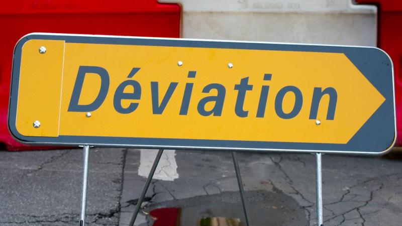 travaux deviation