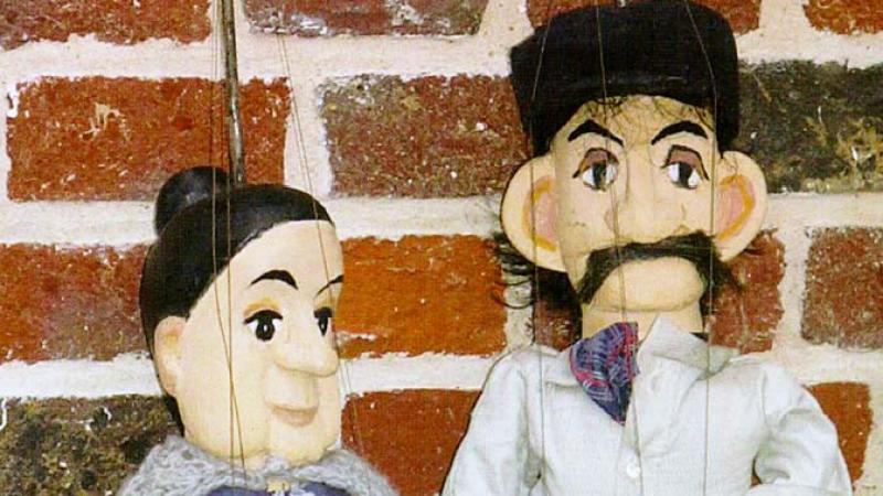 Le Tchot Batisse des Diseux avait aussi sa marionnette, comme son épouse Phrasie.