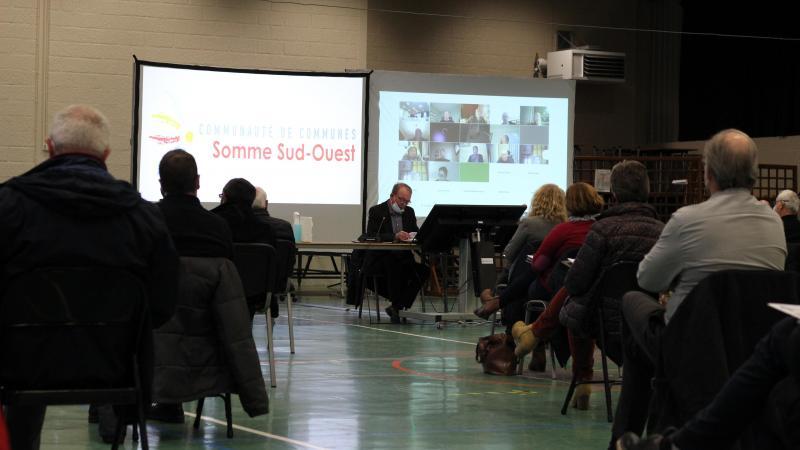 Le conseil communautaire s'est réuni mercredi 17 mars, à Conty.