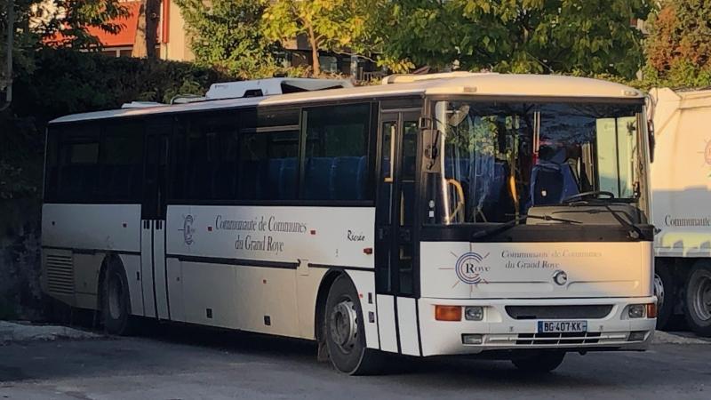 Le bus de quatorze ans d'âge ne sert plus à l'intercommunalité.