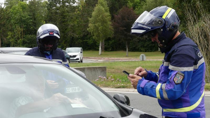 Les gendarmes vont multiplier les contrôles, ce vendredi 19 mars.