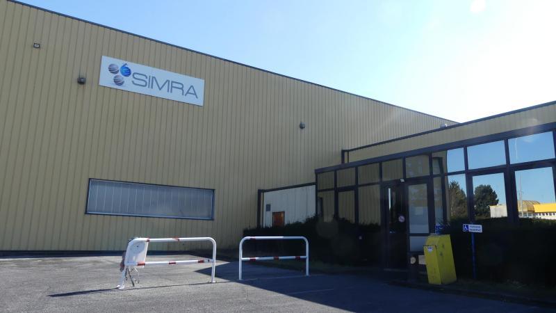 Le site Simra d'Albert est installé dans le parc d'activités Henry-Potez, à Albert.