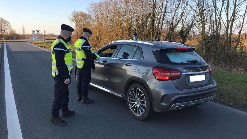 Quelque 260 automobilistes ont été contrôlés.