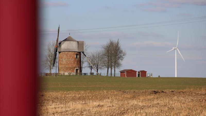Le moulin de Candas.