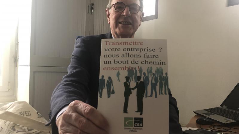 L'Amiénois Jacques Facquer, chef d'entreprise à la retraite, est délégué de l'association CRA, «cédants et repreneurs d'affaires».