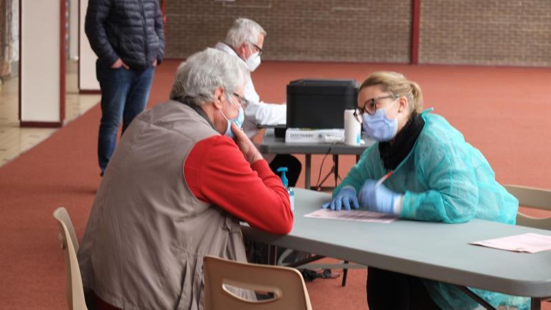 96 personnes doivent être vaccinées ce week-end à la salle Guy-Lejeune de Liancourt.