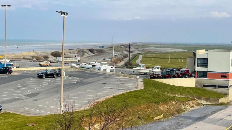 La plage d'Ault-Onival et sa base nautique, a été choisie pour accueillir le point plage.