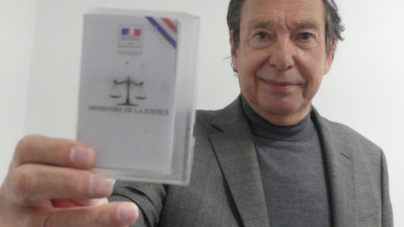 Alain Segouffin est conciliateur de justice depuis plus de deux ans.