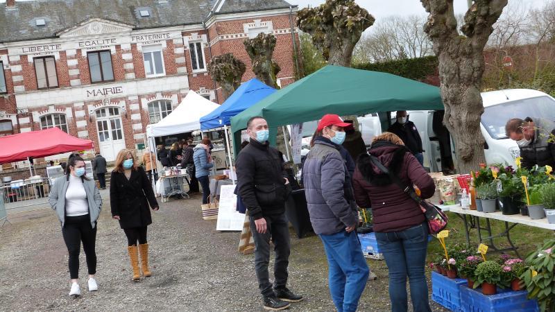 Premier marché de Méharicourt dimanche 21 mars.