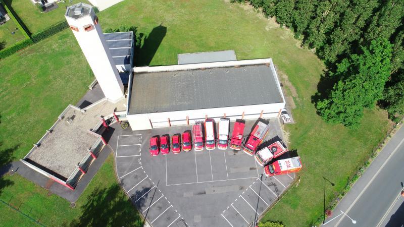 Le centre de secours de Tergnier va quasi doubler en termes de superficie et passer de 500 mètres carré à 800 mètres carré.