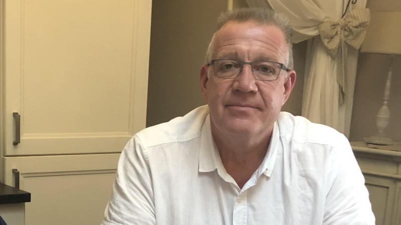 Olivier Grioche, maire de Passel, pointe l'arrêtdu recours à un dispositif d'aide de l'État.